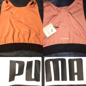 The Puma x Stampd bra